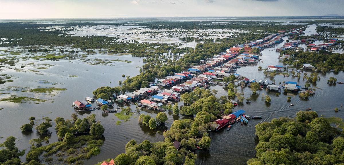 Kampong Pluk Tonle Sap Lake